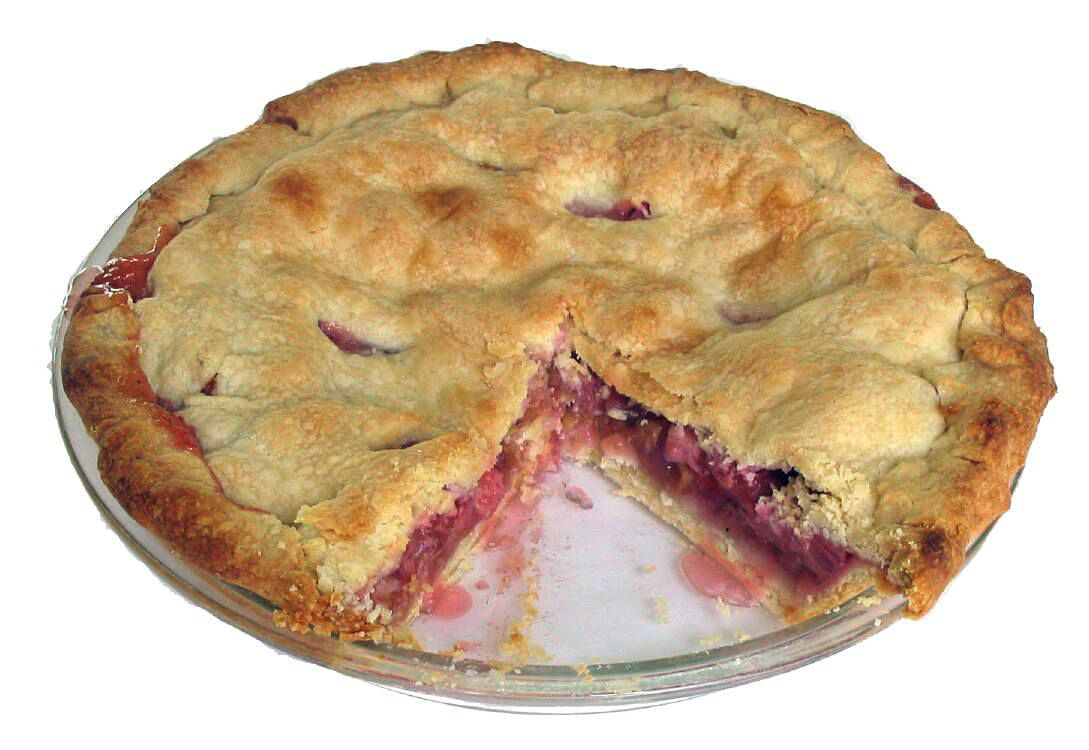 Rhubarb Pie by Hayford Peirce