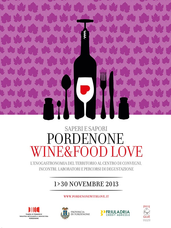 locandina Pordenione Wine & Food Love