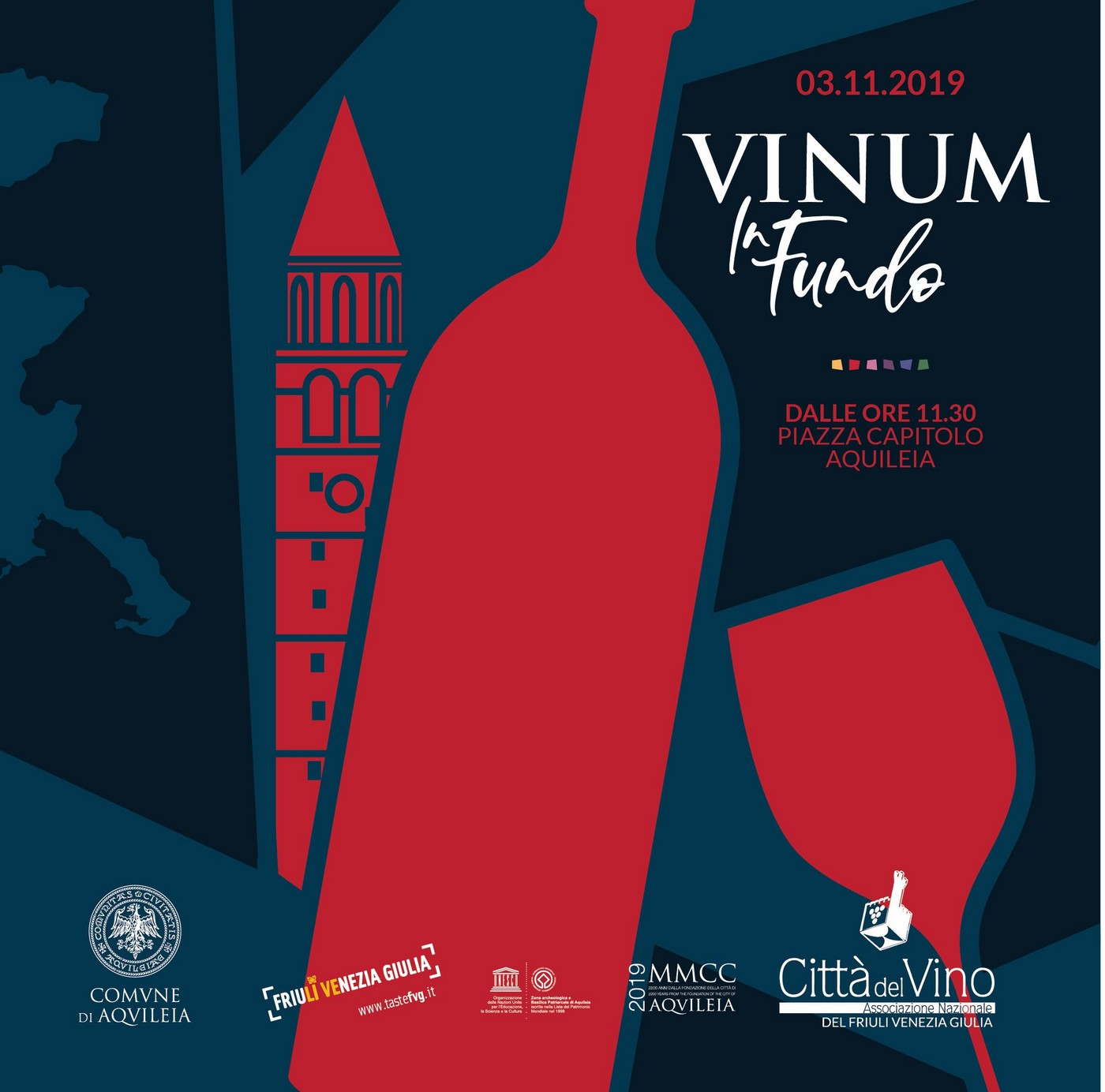 Vinum in fundo logo