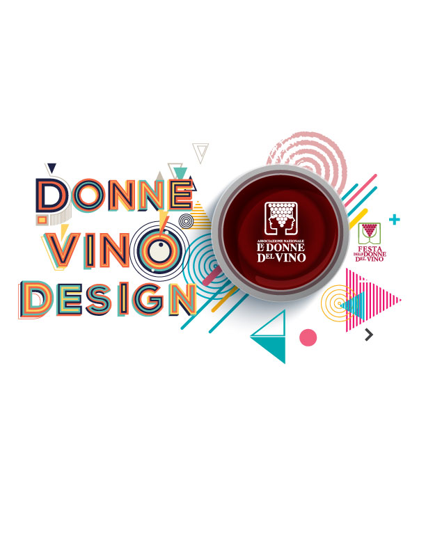 donne vino design logo