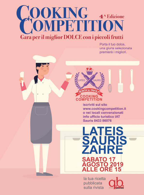Cooking competition locandina promozionale