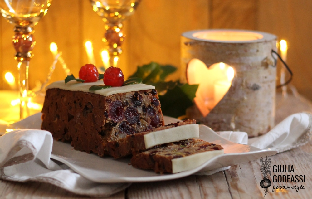 Christmas fruit cake 1