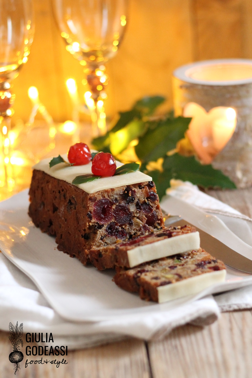 Christmas fruit cake 2
