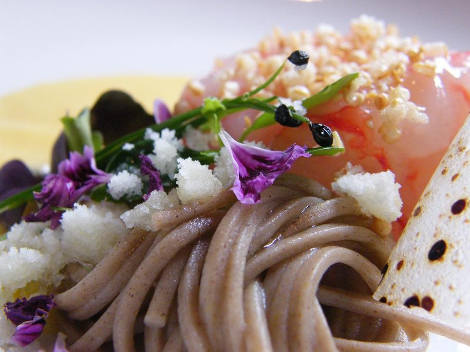 Chef cristina bowerman del glass hostaria gamberi ricotta e ostrica - A tavola con guy ricette ...