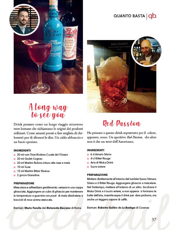 Il nostro mensile sempre più spesso si dedica alla presentazione di nuovi  cocktail e alla segnalazione delle nuove tendenze della mixology. a44e4a310b87