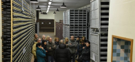 Wine lovers in cantina Pittaro